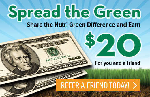 Spread the Green $20 Refer a Friend Today